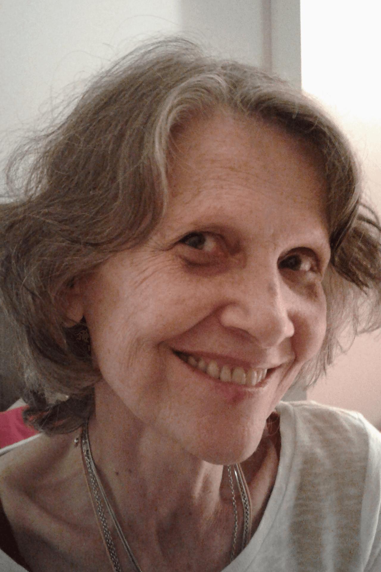 Fática Caldas, doadora de Médicos Sem Fronteiras